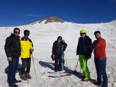 ski tour Iran 4